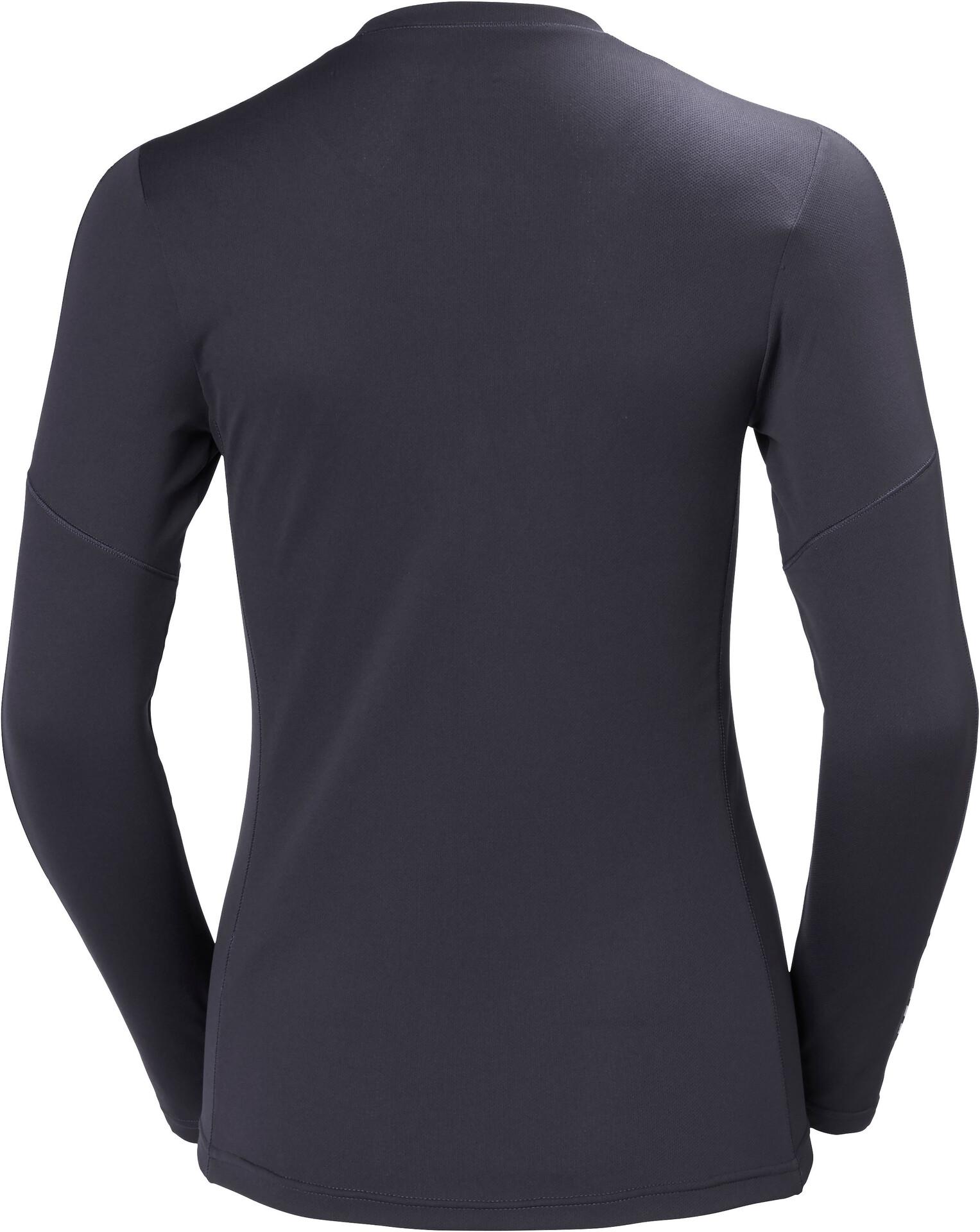 Helly Hansen W's Lifa Active Light LS Shirt Shirt Shirt Graphite Blå 76d1b6